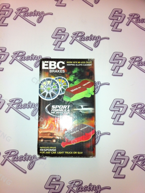 EBC Red Stuff Front Brake Pads - Honda Civic Type R FN2 2007 - 2012