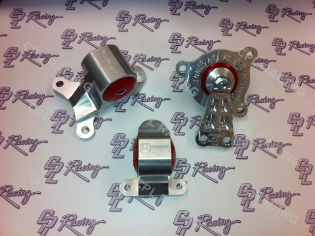 Innovative Set of 3 Billet Engine Mounts - Honda Civic Type R EP3 K20 : CPL Racing