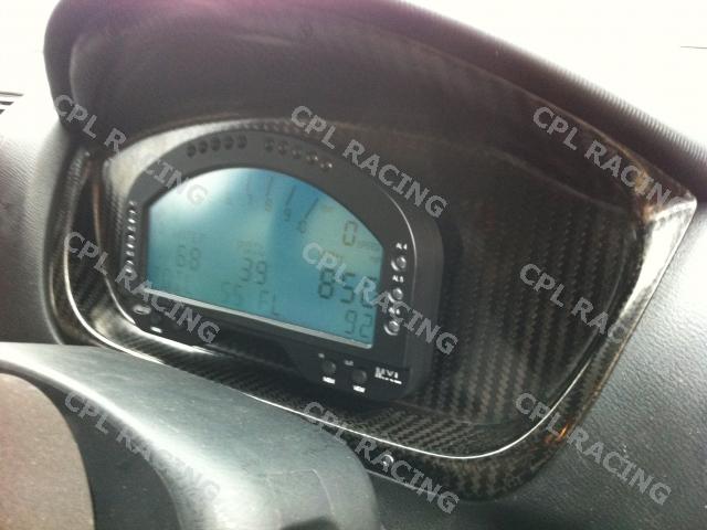 CPL Racing Carbon Fibre Binnacle - Honda Civic Type R EP3 2001 to 2006 : CPL Racing