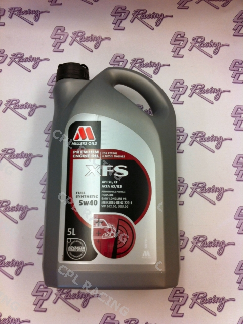 Millers XF Longlife Oil 5W/40 - 5 litres