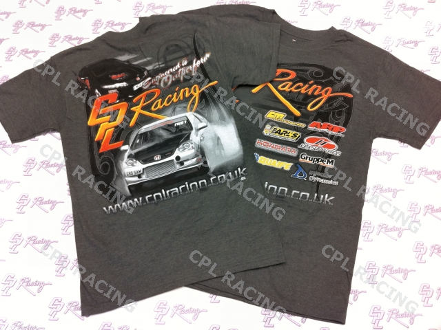 CPL Racing Printed T-Shirt - Mens Size Medium
