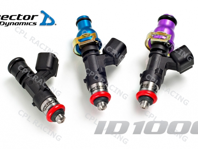 Injector Dynamics 1000cc Injectors ID1000cc - Set of 4 - DISCONTINUED PRODUCT SEE INJECTOR DYNAMICS 1050CC INJECTORS