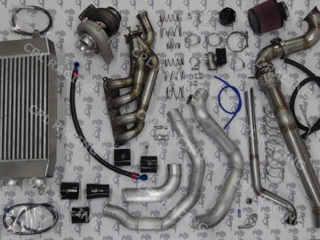CPL Racing Bolt On Turbo Kit - Honda Civic Type R EP3 2001-2006 K20
