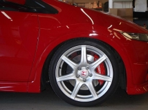 Stoptech Big Brake Kit - Honda Civic Type R FN2 - Black Calipers