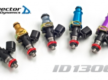 Injector Dynamics 1300cc Injectors - Nissan 240SX S13 / S14 / S15 RB20DET RWD top feed 11mm
