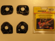 Energy Suspension Motor Mount Inserts EP3/DC5 - Black