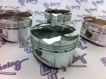 C P Pistons - Honda K20A K20Z  9.5:1 compression flat top 86.5mm bore