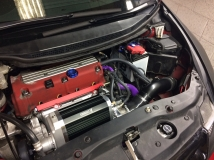 CPL Racing Civic Type R FN2 Large Bore Cold Air Intake with Battery Relocation Kit