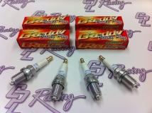Greddy Iriduim Spark Plugs - 8's - Set of 4