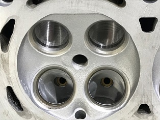 CNC Ported Mini N14 Cylinder Head